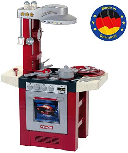 Theo Klein 9090 - Miele Spielküche 'Petit Gourmet' mit Geräusch und Zubehör, 95 cm, Spielzeug