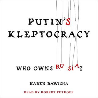 Putin's Kleptocracy audiobook cover art
