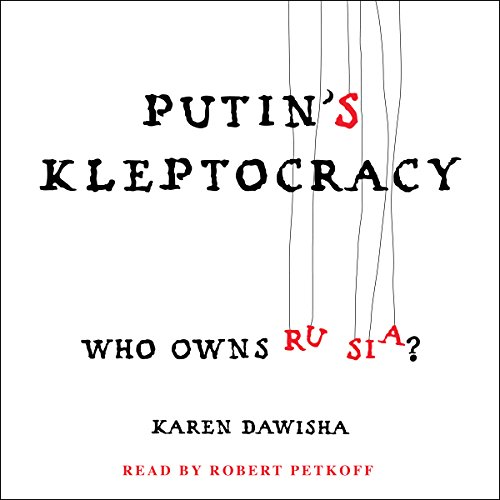 Putin's Kleptocracy audiobook cover art