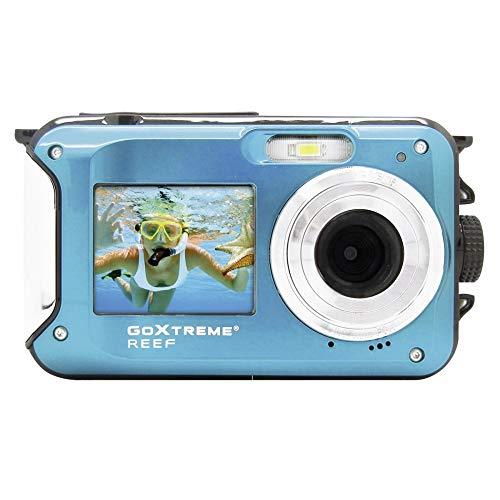 Easypix GoXtreme Reef 24MP Full HD 130g cámara para deporte de acción, Azul