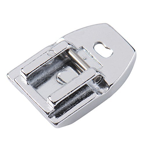 YICBOR Pie de cremallera invisible para máquina de coser doméstica para cantante Brother Janome Juki Toyota (7306A)