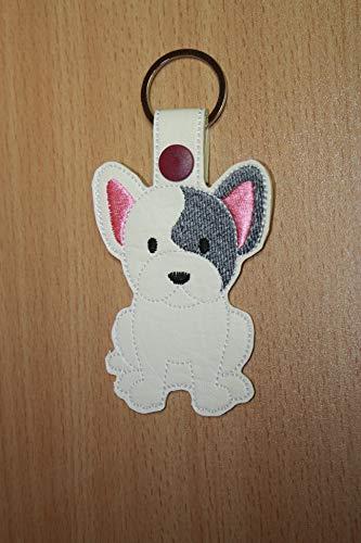 Schlüsselanhänger Französische Bulldogge, French Bulldog