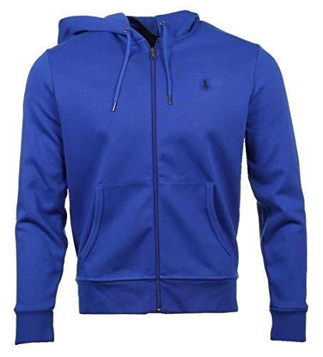 Ralph Lauren Herren Hoodie - Polyester/Baumwoll-Mischung - Blau (XL)