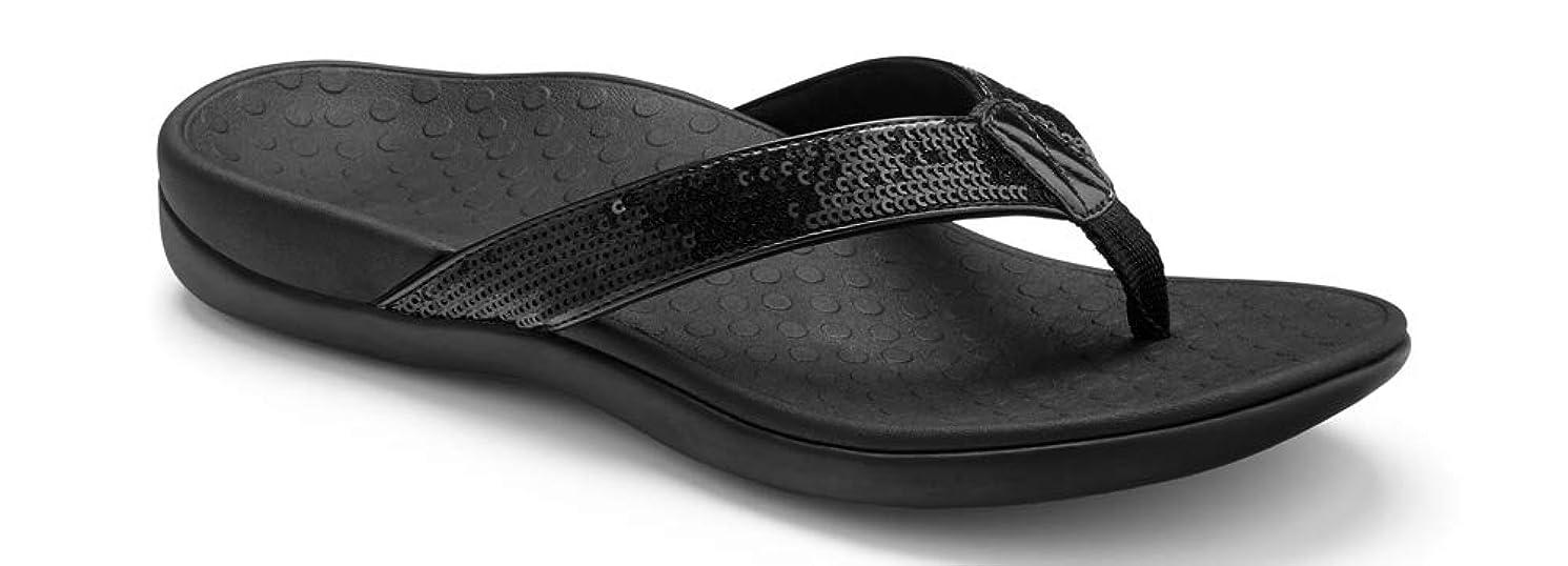 Vionic Women's Tide Sequins Toe Post Sandal