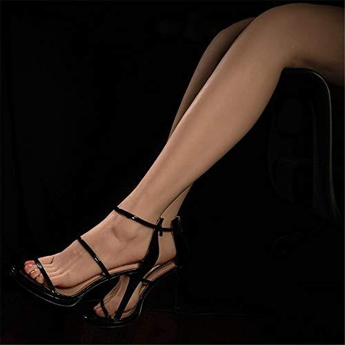 AFYH Silikon Mannequin Fuß, High-End-Platin schöne Füße und Silikon schöne Beine Modell, echte Maßstab 1: 1 Reproduktion, sehr realistische Sicht,One Pair