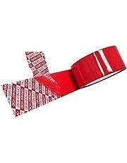 شريط حماية (فويد) ، أحمر ، 40 مم × 50 م رول