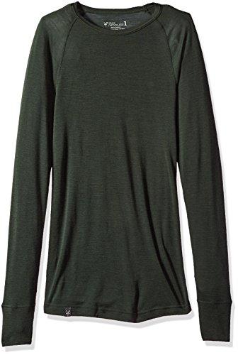3. Ibex Men's Woolies 1 Crew Shirt