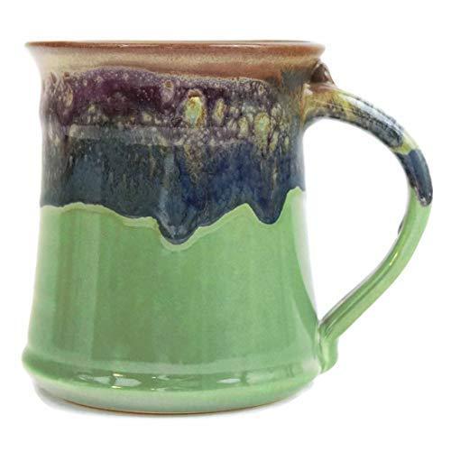 Clay in Motion Handmade Medium Mug (Mountain Meadow)