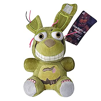 H/A  7   Puppet FNAF Plushies Springtrap - 5 Nights At Freddys Golden Freddy Plush Toys Marionette Nightmare Bonnie Foxy Plush Shadow Twisted Chica Fazbear Stuffed - FNAF Fans Gifts For Kids Birthday