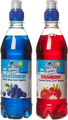 Snowycones Snow Cone Syrup for Snow Cones and Shaved Ice   Not Slush  ...