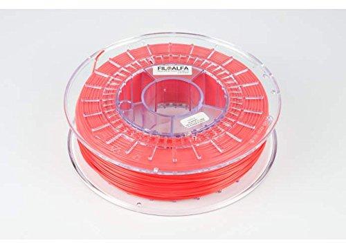 Filamento FiloAlfa 1.75mm PLA ROSSO FUOCO 700g