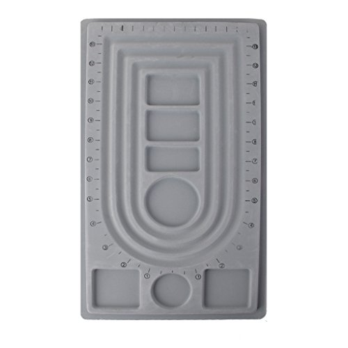 Perlenbrett 40.5x23.5x1.3cm Bead Design Board Perlensortierbrett Schmuck S