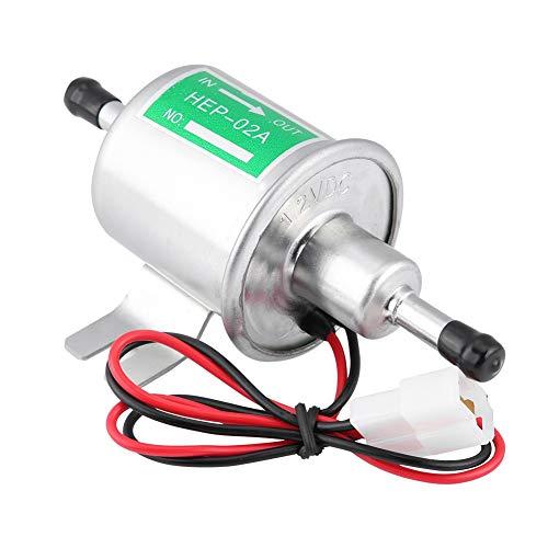 baratos y buenos Bomba de combustible eléctrica universal de gasolina KIMISS 12V [Aleación de aluminio]… calidad