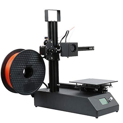 PXX Quasi Di Precisione Piccola Stampante 3D Desktop Fai da Te Household Education Learning Design Stampanti ad Alta Precisione Stampante Curing Stampante Di Casa/Nero