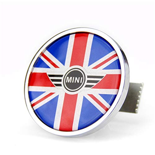 Front Hood Bonnet Grill Grille Emblem Badge Metal Sticker for Mini Cooper F54 F55 F56 F57 F60 R55 R56 R57 R58 R59 R60 R61 Hardtop Clubman Hatchback Covertible Roadster Countryman Paceman (43)