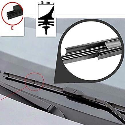 Limpiaparabrisas de goma para Chevrolet Niva UAZ-Patriot Cruze Captiva Aveo