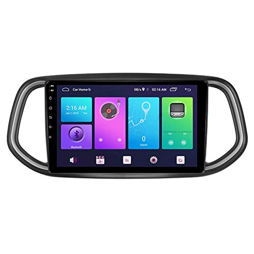 WHL.HH Estéreo Radio Androide Sistema Coche GPS Navegación 10 Pulgadas Pantalla táctil Cabeza Unidad Multimedia Jugador Marcha atrás Imagen 4G WiFi Bluetooth para KX3 2014-2018,S2