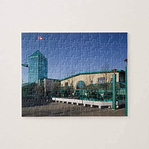 Puzzles für Kanada, Manitoba, Winnipeg: The Forks Market 500 Teile Puzzle, Puzzles für Erwachsene und Kinder Puzzle Intellektuelles Dekompressionsspaß Familienspiel Spielzeug