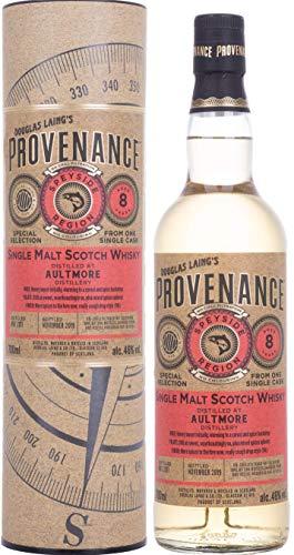 Douglas Laing & Co. PROVENANCE Aultmore 8 Years Old Single Cask Malt 2011 Whisky (1 x 0.7 l)