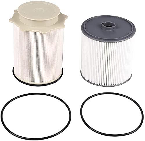 6.7 Cummins Fuel Filter Water Separetor Kit   Compatible with 2019 2000 2021 Ram 2500 3500 4500 5500 6.7L Cummins Diesel Engines   Replace 68157291AA 68436631AA