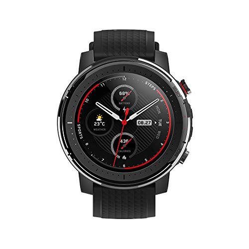 Amazfit Stratos 3 Smartwatch Fitness | 19 Modos Deportivos| 3 Modos GPS | 70 días Batería (Ahorro) | Sensor BioTracker | Notificaciones Inteligentes | GPS Globass Beidou & Galileo(Profesional)