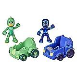 PJ Masks Gekko vs Night Ninja Battle Racers Preschool...