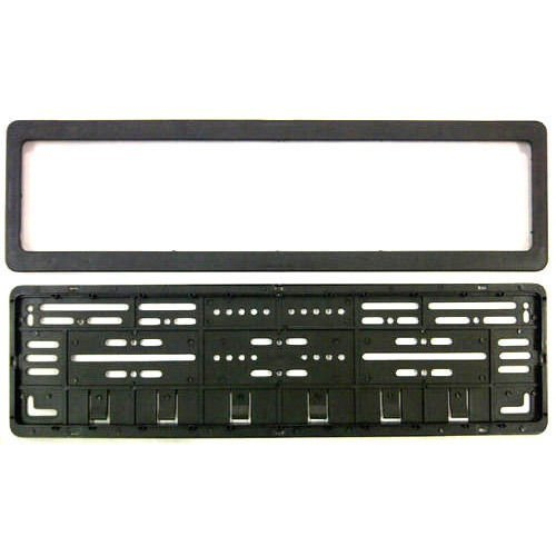 Auto Oprema Easy4Buy ABS Car Number Plates Frame Front and Back for Alto/WagonR/i10/Santro