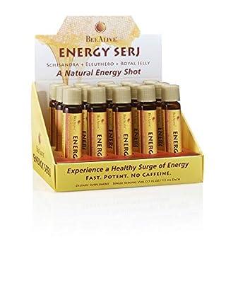 BeeAlive Energy SERJ with Schisandra, Eleuthero and Royal Jelly | No Caffeine Energy Boost