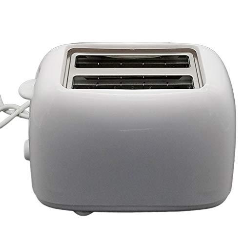 Broodrooster Tweevoudige broodrooster Stereo Surround-verwarming Knop met zes standen Wit