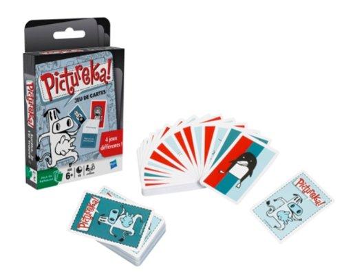 Hasbro–49091–Kartenspiel–Pictureka