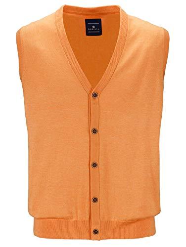 BABISTA Herren Strickweste Orange 52 Baumwolle