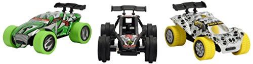 Dickie Toys 203754001 TRXX05 Trixx 360-Straight Bowl, 3 Action-Autos mit Rückzugmotor inkl. Rampe