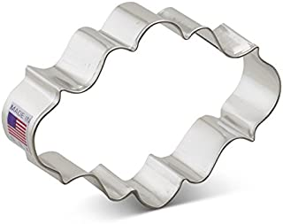 Ann Clark Cookie Cutters Oval Plaque Cookie Cutter, 4