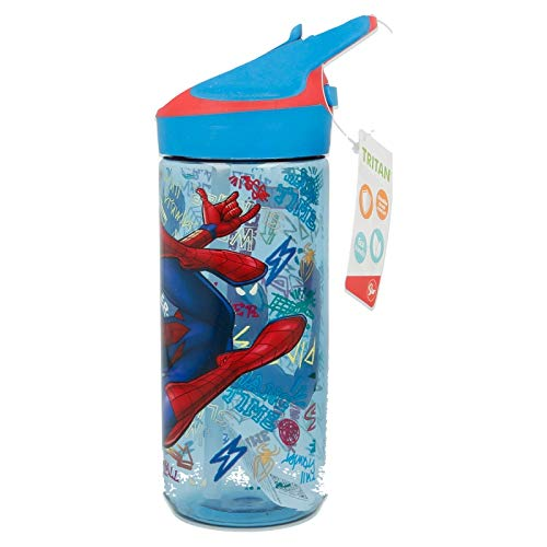 Stor Botella TRITAN Premium 620 ML | Spiderman Graffiti