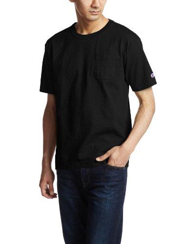 チャンピオン チャンピオンヘリテイジ ティーテンイレブン ポケット付き US Tシャツ C5-B303 090 Men's