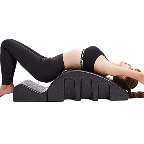 N Massageapparaat voor wervelkolom, gebogen pula, massage-ligstoel, spine, corrector, pilates, concealer, massagelligstoel, yoga, fitness, apparatuur, spine, corrector