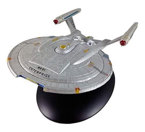 Filmwelt Shop Enterprise NX-01 Eaglemoss Collection Modell - Star Trek die Offizielle Sammlung: Ausgabe #3 mit deutschem Magazin