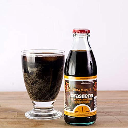 30 Bottiglie Brasilena Gassosa al Caffè Calabrese in acqua Calabria da 18cl Prodotti Tipici Calabresi