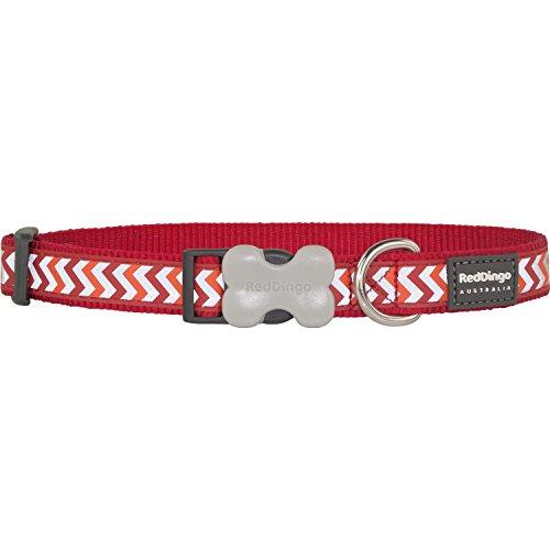 Collar Reflectante para Perro Red Dingo Ziggy