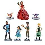 Desplácese por encima de la imagen para ampliarla Disney Store Playset Play Set de juego Topper tarta Elena de Avalor Princesa Personajes originales procedentes de Estados Unidos