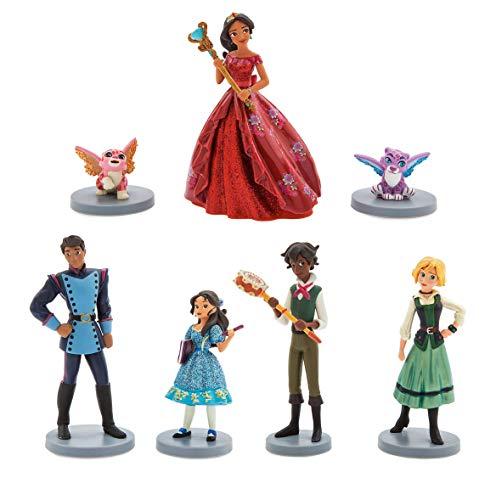 Disney Store Playset Play Set da Gioco Elena di Avalor Principessa Personaggi Figurine Originale Provenienza USA