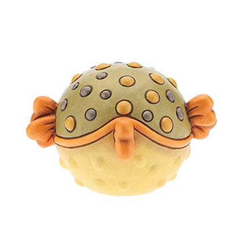 THUN Pesce istrice Ceramica 13 cm h