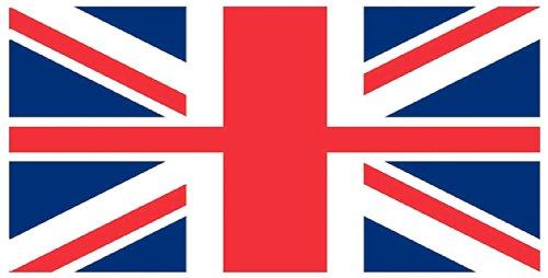 Union Jack - Engelse vlag - badhanddoek - strandlaken - 150 x 75 cm - 100% katoen - B-product met fouten