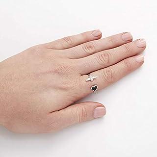 خواتم نحاسية مطلية باللون الفضي للنساء من اوليفيا بورتون - OBJLHR10
