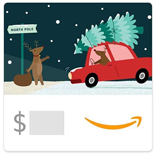 Amazon eGift Card - Reindeer Roadtrip