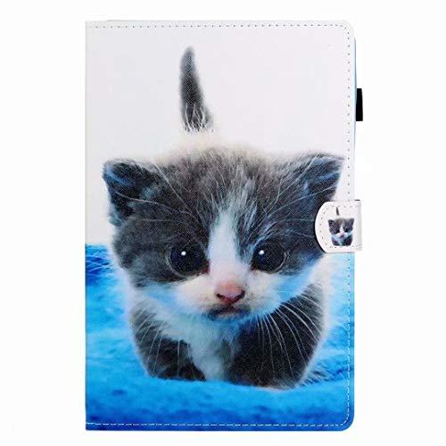Funda para Samsung Galaxy Tab S7 SM-T870/T875 – [protección de esquina] multiángulo de visualización Folio cubierta/bolsillo, encendido y apagado automático para Samsung Galaxy Tab S7 SM-T870/T875 Cat