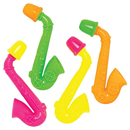 Baker Ross Muzikale Saxofoons (10 stuks) Feestartikelen en Speelgoed voor Kinderfeestjes