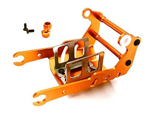 L=93mm 2 for 1//8 Buggy Integy RC Model Hop-ups C24159BLACK MX8 Hard Anodized Front 16mm Big Bore Shock
