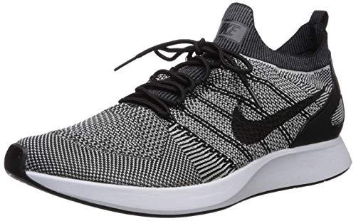 Nike WMNS Free RN Flyknit, Women's Running Shoes, White (White / Black), 3 UK (36 EU)