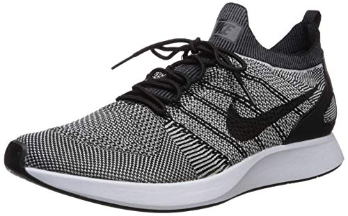 Nike Men's Air Zoom Mariah Flyknit Racer Black/Pure Platinum Ankle-High Mesh Running - 10.5M